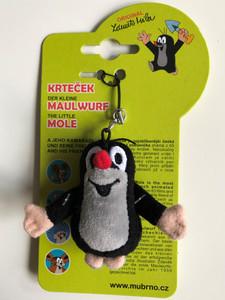 Krtek - Little Mole 6cm with eyelet / Krteček - mini privesek / Maulwurf 6cm - Mini-Anhänger / Kisvakond mini kulcstartó - medál / 35954Z (8590121359542)
