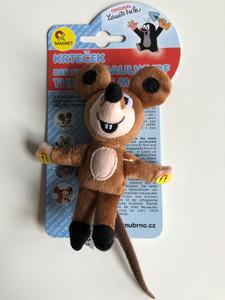 Krtek - The Little mole - mouse (magnet) / Krtek a kamarádi - Myška 12 cm - Maulwurf und Freunde - Maus / Kisvakond és barátai - Egér mágnes / Krteček / Age 3+ / 39918Z (8590121399180)