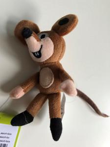 Little Mole and his friends - mouse finger puppet / Krtek a kamarádi - Miška - Maulwurf und Freunde / Kisvakond és barátai - Egér ujjbáb / Krteček / Age 0+ (8590121297059.)