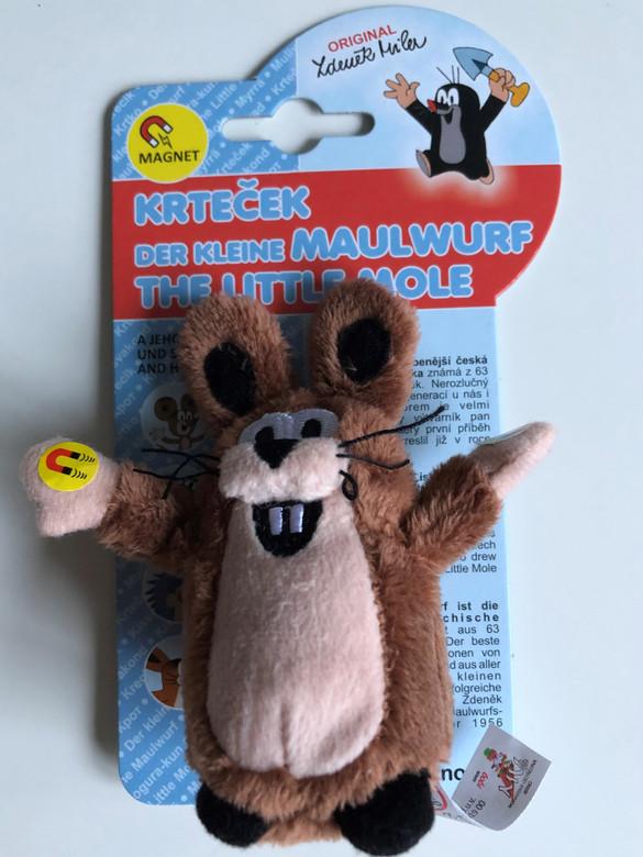 Krtek - Little mole and friends - Hare 10 cm magnets / Krteček - Zajic 10cm magnety / Maulwurf - Hase 10cm magneten / Kisvakond - Nyulacska 10cm mágnes / 39917Z (8590121399173)