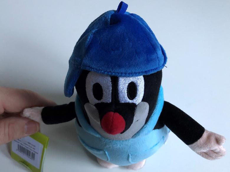 Krtek - Little Mole 16cm trousers and blue cap / Krteček 16cm kalhot. kšilt.modry / Der kleine Maulwurf 16cm Hose blau kappe / Kisvakond nadrágban és kék micivel 16cm / 47917E / Ages 0+ (8590121504621)