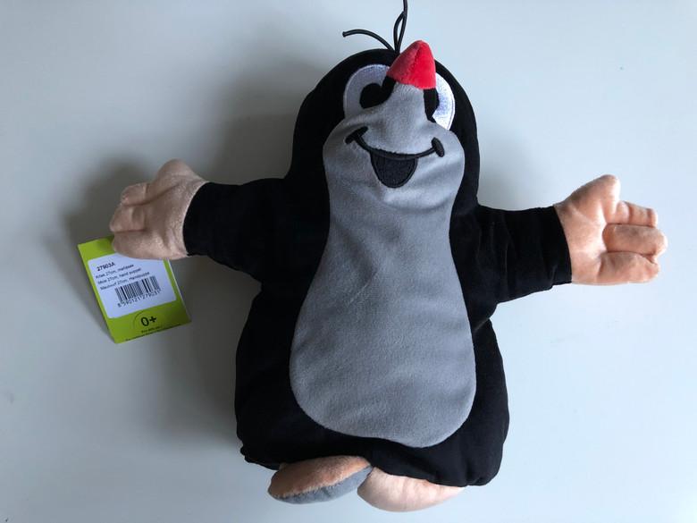 Krtek - Little Mole hand puppet 27cm / Krteček manasek / Maulwurf, handpuppe / Kisvakond kézi báb / 27903A (8590121279031)
