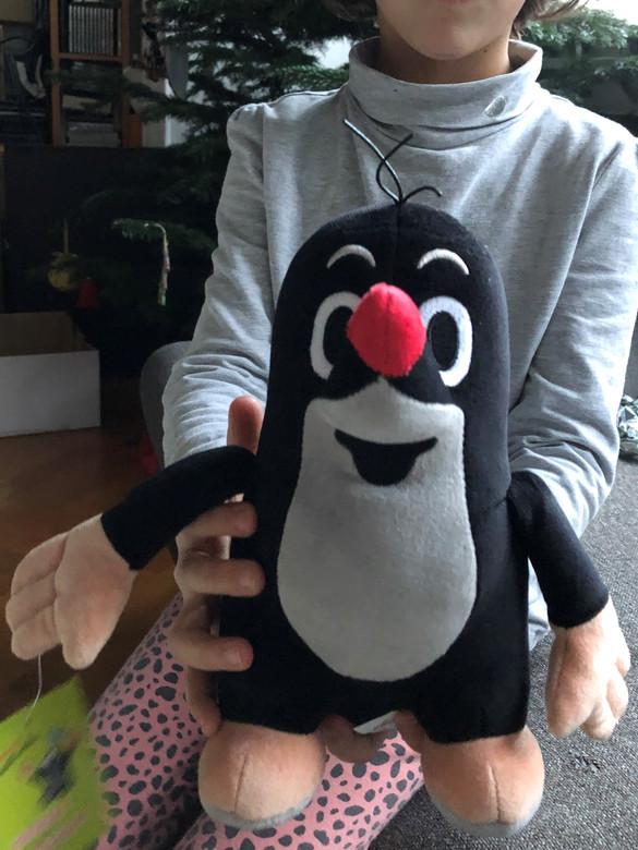 Krtek - Little mole 20cm KD / Der Kleine Maulwurf 20cm / Kisvakond 20cm / Krteček - 45904Z / Plush toy - Czech Animated character (8590121459044)