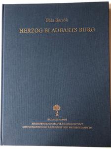 Herzog Blaubarts Burg 1911 by Béla Bartók / Balassi kiadó / Opus 11 Herausgegeben von László Vikárius / Bluebeard's Castle / German edition of Kékszakállú herceg vára (9635066899)