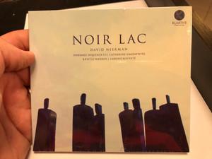 Noir Lac - David Neerman / Ensmeble Sequenza 9.3, Catherine Simonpietri, Krystle Warren, Lansine Kouyate / Klarthe Audio CD 2020 / 5051083155632