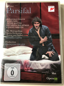 Wagner - Parsifal 2 DVD SET The Metropolitan Opera Orchestra, Chorus and Ballet / Directed by Barbara Willis Sweete / Production Francois Girard / Conducted by Daniele Gatti (888837255899)