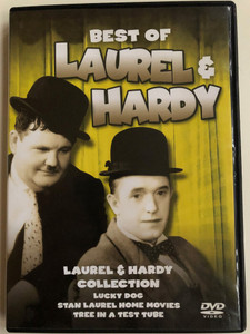 The Best Of Laurel & Hardy DVD 2008 / Laurel & Hardy Collection - Lucky Dog, Stan Laurel Home Movies - Tree in a test tube / Black & White Comedy Classic (5060144219480)