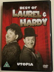 The Best Of Laurel & Hardy - Utopia DVD 1950 Atoll K / Laurel & Hardy Collection / Directed by Léo Joannon, John Berry / Starring: Stan Laurel, Oliver Hardy, Suzy Delair, Max Elloy / Black & White Comedy Classic (5060144219473)