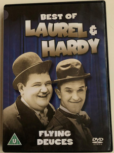 The Best Of Laurel & Hardy - The Flying Deuces DVD 1939 / Directed by A. Edward Sutherland / Starring: Stan Laurel, Oliver Hardy, Jean Parker, Reginal Gardiner, Charles Middleton / B&W Classic (5060144219466)