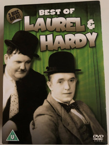 Best of Laurel & Hardy 3 DISC Box SET / Utopia, Flying Deuces, Laurel & Hardy Collection / 3x DVD / Stan Laurel, Oliver Hardy / B&W Classic Comedy Films (5060144218575)