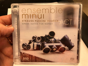 Ensemble Minui - Strauss, Puccini, Dvorak / Opera Suites For Nonet - Act I / Ars Produktion Audio CD 2020 Stereo / 4260052382905