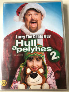 Larry the Cable Guy - Jingle All the Way 2 DVD 2014 Hull a pelyhes 2. / Directed by Alex Zamm / Starring: Larry the Cable Guy, Santino Marella, Brian Stepanek (8590548602375)