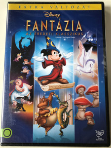 Fantasia - The Original Classic DVD 1940 Fantázia az eredeti klasszikus / Directed by Samuel Armstrong, James Algar / Starring: Leopold Stokowski, Deems Taylor (5996514016406)