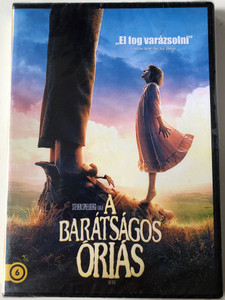 The BFG DVD 2016 A barátságos Óriás / Directed by Steven Spielberg / Starring: Mark Rylance, Ruby Barnhill, Penelope Wilton, Jemaine Clement / The Big Friendly Giant (5996514034110)