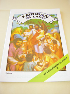 The Life of Jesus 2 / TAGALOG Language Children's comicstrip Bible book