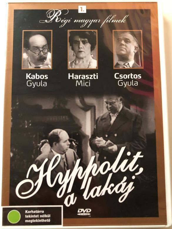 Hyppolit, a lakáj DVD 1931 Hyppolit the butler - Régi magyar filmek 1. / Directed by Székely István / Starring: Kabos Gyula, Csortos Gyula, Jávor Pál, Fenyvessy Éva (5999882685045)