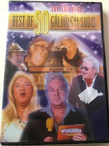 Best of Gálvölgyi Show 50 DVD Sok extrával! / Directed by Kubimszky Péter / Starring: Gálvölgyi János, Aigner Szilárd, Bajor Imre, Borbás Gabi, Gesztesi Károly / Hungarian Comedy Show (5999545581707)