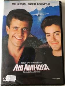 Air America DVD 1990 / Directed by Robert Spottiswoode / Starring: Mel Gibson, Robert Downey, Jr. (5996051090037)