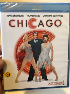 Chicago Musical (2002) Bluray disc (1080p) / Directed by Rob Marshall / Starring: Renée Zellweger, Catherine Zeta-Jones, Richard Gere, Queen Latifah (5999075602262)