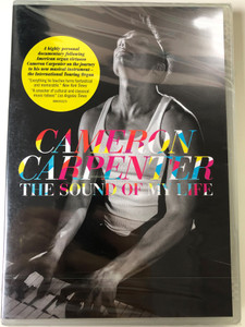 Cameron Carpenter - The sound of my life DVD 2014 / A highly personal documentary following American organ virtuoso / Sony Classical (888430502796)