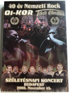 Titkolt Ellenállás 2DVD 2009 Oi-kor - 40 év Nemzeti Rock / Születésnapi koncert Budapest / 2008. November 15 / Titkolt Records - TR DVD002 (TRDVD002)