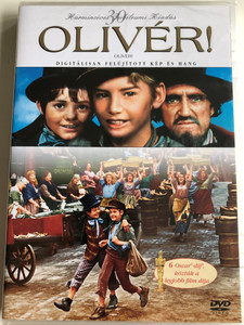 Oliver! DVD 1968 Olivér! / Directed by Carol Reed / Starring: Ron Moody, Oliver Reed, Harry Secombe, Shani Wallis / 30th year anniversary edition (5999048906663)