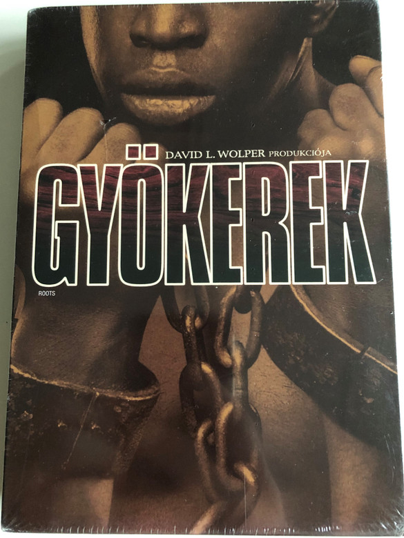 Roots 3DVD 1977 Gyökerek / Directed by Marvin J. Chomsky, John Erman, David Greene, Gilbert Moses / Starring: John Amos, Ben Vereen, LeVar Burton, Louis Gossett Jr. / American TV miniseries (5999048922779)