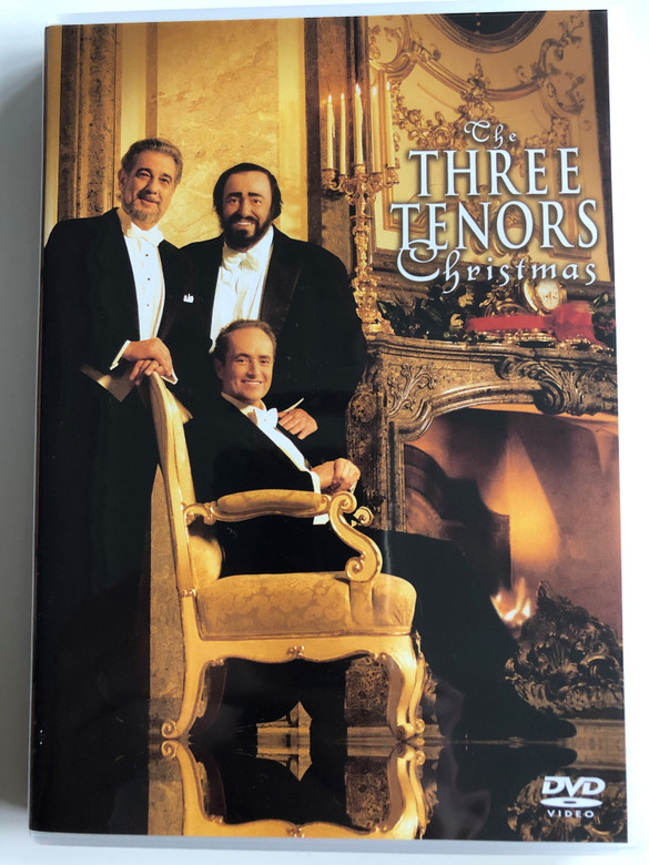 The Three Tenors - Christmas DVD 1999 / Directed by David Mallet / José Carreras, Plácido Domingo, Luciano Pavarotti / Vienna Symphony / Conducted by Steven Mercurio / Recorded LIVE at the Konzerthaus, Vienna, Austria / Sony Entertainment (5099708906399)