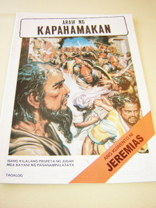 JEREMIAH the Prophet / TAGALOG Language Children's comicstrip Bible book