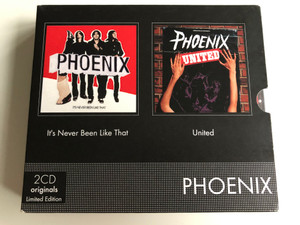 Phoenix – It's Never Been Like That; United / 2CD Originals Limited Edition / EMI Music 2x Audio CD 2000 / 5099964698625