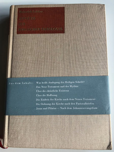 Aufsätze zur Biblischen Theologie by Heinrich Schlier / St. Benno-Verlag 1968 / Hardcover / German language Essays on Biblical Theology (GERBiblicalTheology)
