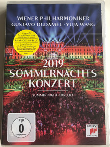 Sommernachts Konzert 2019 DVD Summer Night Concert / Directed by Henning Kasten / Wiener Philharmoniker - Gustavo Dudamel - Yuja Wang / Filmed in the gardens of Schönbrunn Palace Vienna June 20 (190759435595)