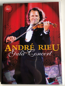 André Rieu Gala Concert DVD 2008 Hamburg Color Line Arena 2002 / Dark Eyes, Vienna Blood, Hungarian Dance No. 5, Roses from the South / Universal music / LC00309 (602517688322)