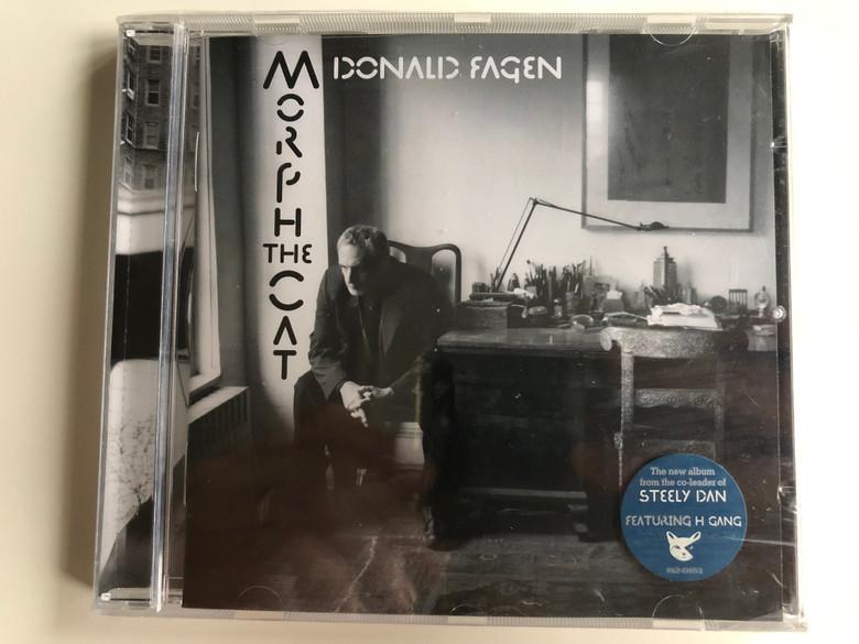 Donald Fagen – Morph The Cat / Reprise Records Audio CD 2006 / 9362-49975-2