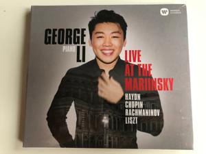 George Li (piano) - Live At The Mariinsky / Haydn, Chopin, Rachmaninov, Liszt / Warner Classics Audio CD 2017 Stereo / 0190295812942