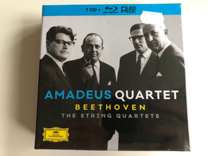 Amadeus Quartet - Beethoven - The String Quartets / Deutsche Grammophon 7x Audio CD 2018 / 00289 483 5645