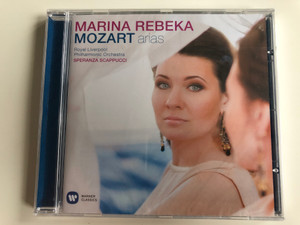 Marina Rebeka - Mozart – Arias / Royal Liverpool Philharmonic Orchestra, Speranza Scappucci / Warner Classics Audio CD 2013 Stereo / 5099961549722
