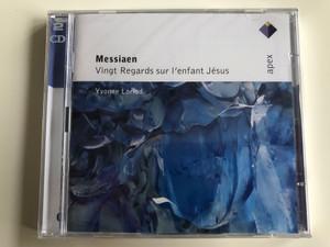 Messiaen - Vingt Regards sur l'enfant Jesus / Warner Classics 2x Audio CD 2007 / 2564 69986-5