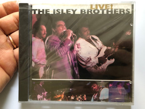 The Isley Brothers ‎– Live! / Elektra ‎Audio CD 1993 / 7559-61538-2