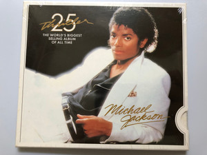 Thriller 25 - Michael Jackson / The World's Biggest Selling Album Of All Time / Sony Music Audio CD 2009 / 88697493082