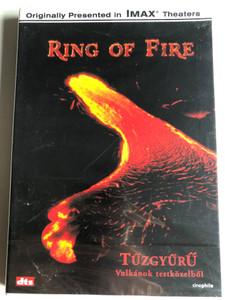 Ring of Fire DVD 1992 Tűzgyűrű - Vulkánok testközelből / Directed by George Casey / Documentary about Volcano belt / Narrated by Robert Foxworth (5999543812049)