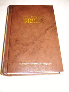 Ilokano Bible / Ti Baro A Naimbag A Damag Biblia / Brown Hardcover New Ilokano Popular Version Bible