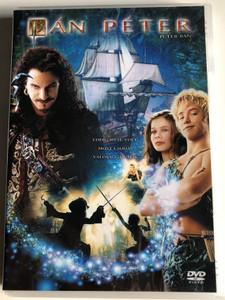 Peter Pan DVD 2003 Pán Péter / Directed by P. J. Hogan / Starring: Jason Isaacs, Jeremy Sumpter, Rachel Hurd-Wood, Richard Briers, Olivia Williams / Sony pictures (5999048903365)