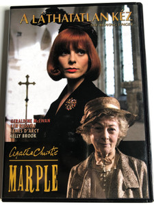 The moving finger Agatha Christie's Marple DVD 2006 A láthatatlan kéz / Directed by Tom Shankland / Starring: Geraldine McEwan, Ken Russell, James D'Arcy, Kelly Brook (5999546332216)