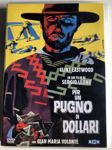 A Fistful of Dollars DVD 1964 Per un pugno di dollari / Directed by Sergio Leone / Starring: Clint Eastwood, Marianne Koch, Josef Egger, Wolfgang Lukschy / Classic Western movie (8032134036572)