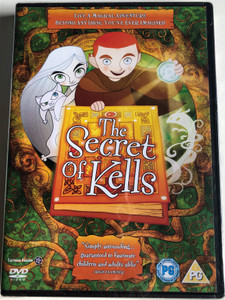 The Secret of Kells DVD 2009 Brendan et le Secret de Kells / Directed by Tomm Moore, Nora Twomey / Starring: Evan McGuire, Brendan Gleeson, Christen Mooney, Mick Lally (8717418203184)