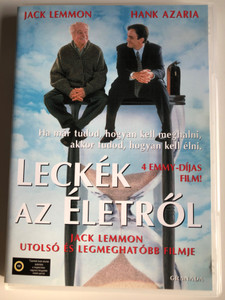 Tuesdays with Morrie DVD 1999 Leckék az életről / Directed by Mick Jackson / Starring: Jack Lemmon, Hank Azaria, Wedny Moniz (5999546330601)