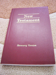 The New Testament / Recovery Version Small / Text with language notes / Witness Lee LSM