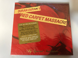 Duran Duran ‎– Red Carpet Massacre / Special Deluxe Package includes 2 full-color booklets, special press badge, plus the 40-minute DVD ''The Making Of Red Carpet Massacre'' / Epic ‎Audio CD + DVD CD 2007 / 88697 17855 2