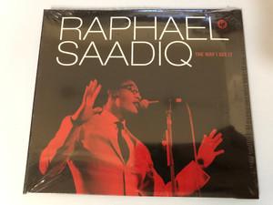 Raphael Saadiq – The Way I See It / Columbia Audio CD 2009 / 88697462112
